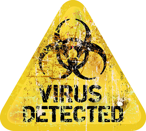 Virus Detection Logo